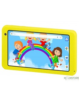 "TREVI TABLET PC 7"" QUAD CORE PER BAMBINI KIDTAB 7 S03 GIALLO"