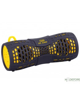 TREVI XR JUMP ALTOPARLANTE SPEAKER AMPLIFICATO BLUETOOTH WATERPROOF IP67 TREVI XR 9A5 GIALLO E NERO