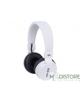 TREVI CUFFIE DJ BLUETOOTH WIRELESS BIANCHE