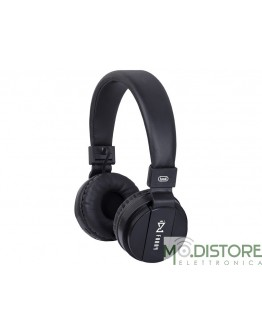 TREVI CUFFIE DJ BLUETOOTH WIRELESS NERE