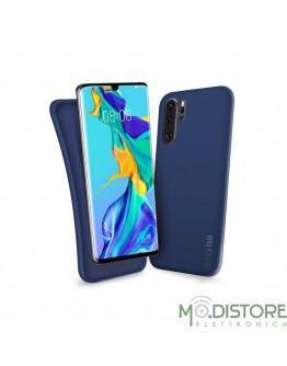 Cover linea polo per Huawei P30 Pro, colore blu