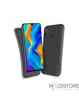 Cover linea polo per Huawei P30 Lite, colore nero