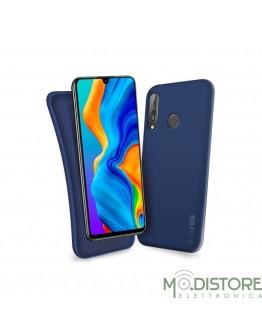 Cover linea polo per Huawei P30 Lite, colore blu