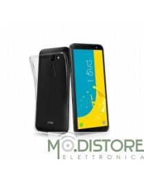 Cover Skinny 03 in TPU, colore Trasparente, per Samsung Galaxy J6