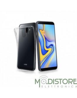 Cover skinny per Samsung Galaxy J6+, colore trasparente