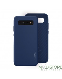 Cover linea polo per Samsung Galaxy S10, colore blu