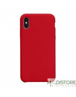 Cover Polo One in Silicone per iPhone X / iPhone XS, colore Rosso