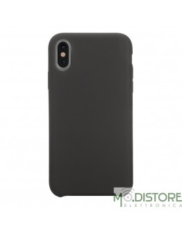 Cover Polo One in Silicone per iPhone X / iPhone XS, colore Nero