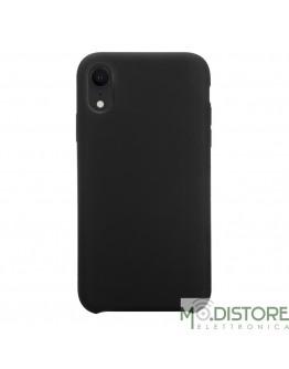 Cover Polo One in Silicone per iPhone XR, colore Nero