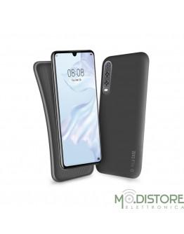 Cover linea polo per Huawei P30, colore nero