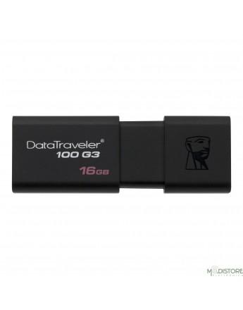 KINGSTON PEN DRIVE USB 3.1/3.0/2.0 16 GB DATA TRAVELER 100