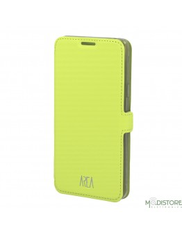 AREA BOOK CASE+TPU LIME PER SAMSUNG GALAXY A5 (2016)