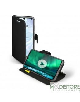 Custodia booksense funzione stand e cradle in TPU per Huawei P30, colore nero