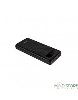 HOCO power bank 20 000 mAh con LCD B20A nero