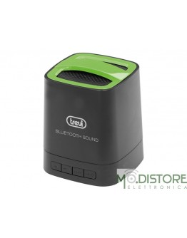 TREVI MINI ALTOPARLANTE AMPLIFICATO BLUETOOTH XP 72 BT VERDE