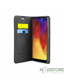 Book Case in PU per Huawei Y6 2019 / Y6 Pro 2019 / Honor 8A, colore nero