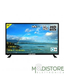 "MAJESTIC TV LED 32"" HD READY TV NERA"