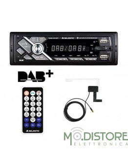MAJESTIC AUTORADIO DAB 444 BLUETOOTH / RDS / FM STEREO