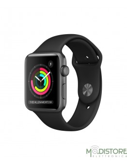 APPLE WATCH 3 ALLUMINIUM 42MM Nero
