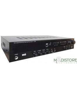 AMPLIFICATORE HOME THEATHRE 600W DISPLAY DIGITALE 5 CANALI BLUETOOTH / USB / SD