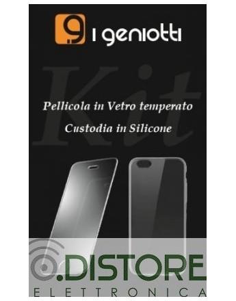 GENIOTTI KIT PELLICOLA + CUSTODIA APPLE IPHONE 12 MINI