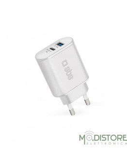 Travel charger type C output PD 18 W + 1 USB 2.1 A