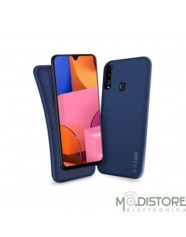 Cover linea polo per Samsung Galaxy A20s, colore blu