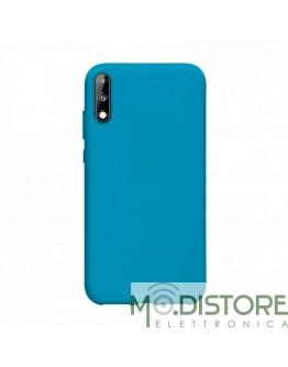 School fluo case per Huawei P40 Lite E, colore blu