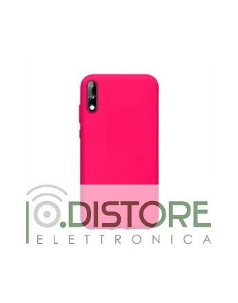 School fluo case per Huawei P40 Lite E, colore rosa