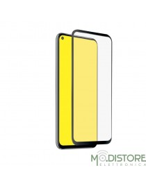 Screen Protector Full Cover vetro temperato per Huawei P40 Lite E, colore nero