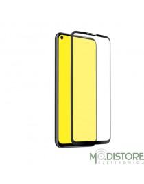 Screen Protector Full Cover vetro temperato per Huawei P40 Lite, colore nero