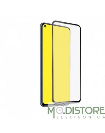 Screen protector Full Cover vetro temperato per Xiaomi Redmi Note 9, colore nero