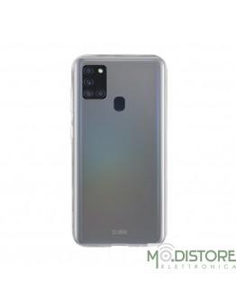 Skinny Cover per Samsung Galaxy A21s, trasparente