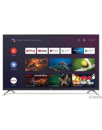 "SHARP TV COLOR 55"" AQUOS 55BL2E NERO - ANDROID 9.0 4K 3HDMI DVB-T2"