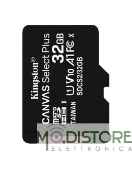 KINGSTON MICRO SD 32 GB CANVAS SELECT PLUS CLASSE 10