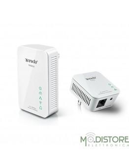 TENDA PWERLINE PW201A+P200 CON EXTENDER STARTER KIT 1 LAN +1 WIFI