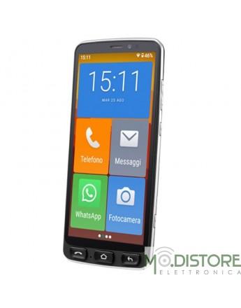 MAJESTIC SENIOR SMARTPHONE 2 GB RAM 16 GB ANDROID NERO