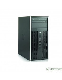 HP DESKTOP TOWER COMPAQ PRO 6300 I5-3470 4GB RAM 256GB SSD Nero