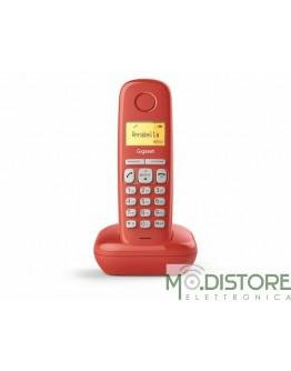 GIGASET TELEFONO CORDLESS A170 ROSSO