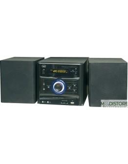 TREVI SISTEMA MP3/ CD /USB CON RADIO PLL DIGITALE DXM 1090 NERO